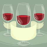 Wine background Royalty Free Stock Photos