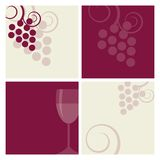 Wine backgrounds Royalty Free Stock Images