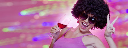 Wine banner Stock Photos