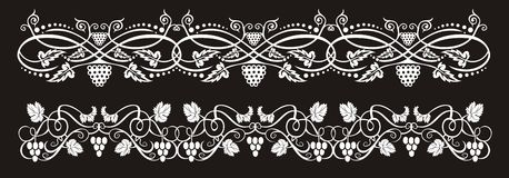 Wine banners Royalty Free Stock Photography