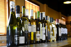 Wine bar Stock Image
