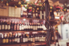 Wine bar Florence faded Stock Photos