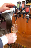 Wine barrel Royalty Free Stock Photography