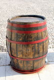 Wine barrel. Old barrel of good wine stock image