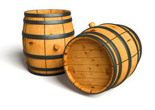 Wine barrel royalty free illustration