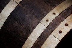 Wine Barrel. A Closeup of a Wine Barrel stock images
