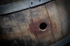Wine Barrel Close Up Royalty Free Stock Photos