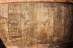 Wine barrel detail Royalty Free Stock Images
