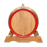 Wine barrel isolated Royalty Free Stock Photo