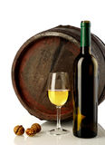 Wine and barrel Royalty Free Stock Image