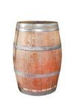 Wine barrel. Traditional wine barrel made of oak wood royalty free stock photo
