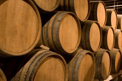 Wine barrels. Stock Photography