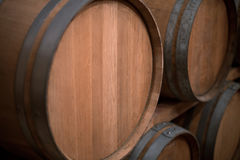 Wine Barrels Royalty Free Stock Photography