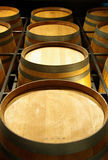 Wine Barrels stock photography