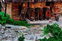 Wine barrels Royalty Free Stock Image