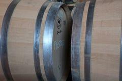 Wine Barrels Stock Image