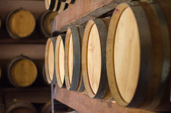 Wine barrels Royalty Free Stock Image