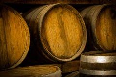 Wine barrels Royalty Free Stock Photography