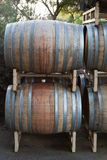 Wine Barrels Royalty Free Stock Photo