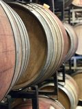 Wine Barrels royalty free stock photos