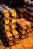 Wine Barrels or Vats Stock Image