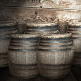 Wine barrel Royalty Free Stock Image