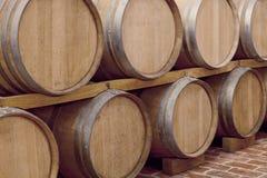Wine barrels Royalty Free Stock Photo