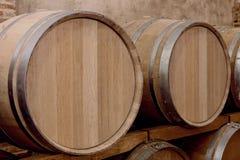 Wine barrels Royalty Free Stock Photos