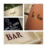 Wine bars Royalty Free Stock Photography