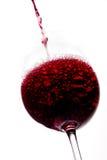Wine beeing poured Stock Photos