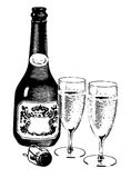 Wine1 Royalty Free Stock Photos