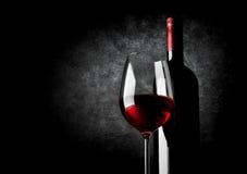 Wine and black Stock Photos