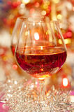 Wine and bokeh Royalty Free Stock Photos