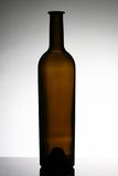 Wine bottle. An isolated empty non tagged wine bottle Royalty Free Stock Photo