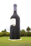 Wine Bottle. For display in a vineyard Royalty Free Stock Photo