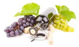 Wine bottle Stock Photos