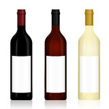 Wine bottle Royalty Free Stock Images