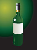 Wine bottle. A wine bottle available in vector format royalty free illustration