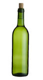 Wine Bottle. A green wine bottle with cork Stock Image