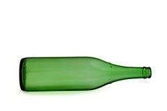 Wine bottle. Empty bottle royalty free stock photo