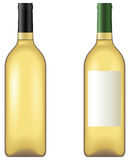 Wine bottle. No mesh or transparency, blend and gradient only Stock Photography