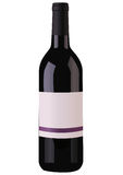 Wine Bottle. Illustration of an expensive bottle of wine Stock Photography