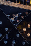 Wine bottle cellar Royalty Free Stock Photo