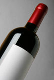 Wine bottle close-up Stock Photos