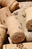 Wine bottle corks. Royalty Free Stock Images