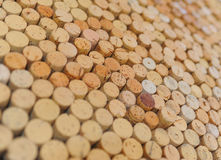 Wine Bottle Corks Stock Image