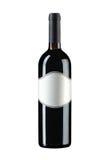Wine bottle isolated Royalty Free Stock Photo