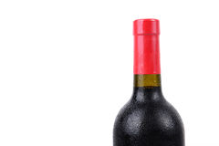 Wine bottle isolated Royalty Free Stock Photography