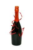 Wine bottle isolated on white background Stock Photography