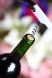 Wine bottle opener Royalty Free Stock Photo